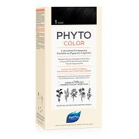 PHYTOCOLOR 1 NERO COLORAZIONE PERMANENTE A BASE VEGETALE SENZA AMMONIACA 100%
