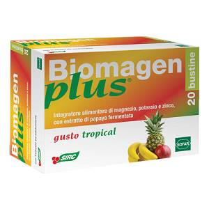 BIOMAGEN PLUS TROPICAL 20BUSTINE INTEGRATORE MINERALE