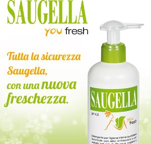 SAUGELLA YOU FRESH DET INT 200 ML